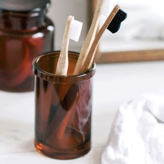 Toothbrush holder - Ambre