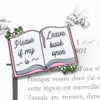 Pin's - Please leave if my book is open