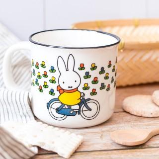 Mug - Miffy à vélo