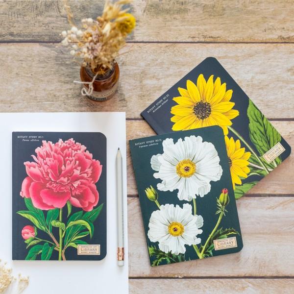Mini notebooks - Botanique