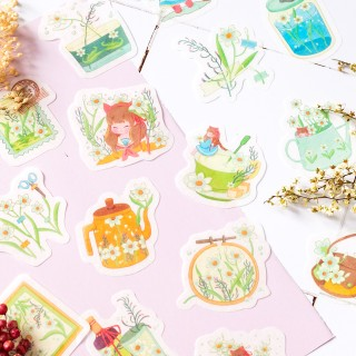 Stickers - Flowers (narcissus)