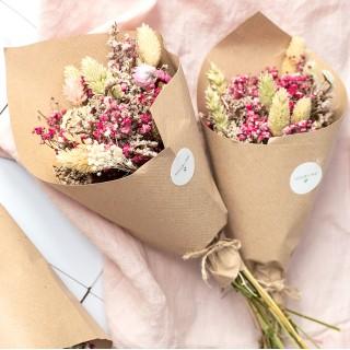 Dried flowers bouquet - Rosée