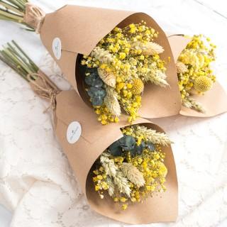 Dried flowers bouquet - Soleil