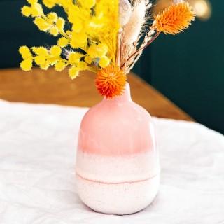 Ceramic vase - Mojave (pink)