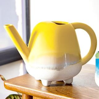 Ceramic watering can - Mojave (yellow)