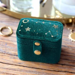 Petite travel ring box - Night sky