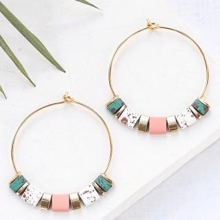 Hoop earrings - Bali