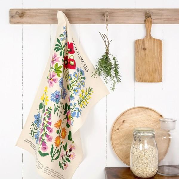 Tea towel - Wild flowers