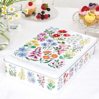 Biscuit tin - Wild flowers