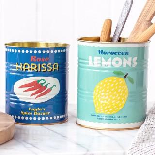 Storage tin set - Lemons & harissa