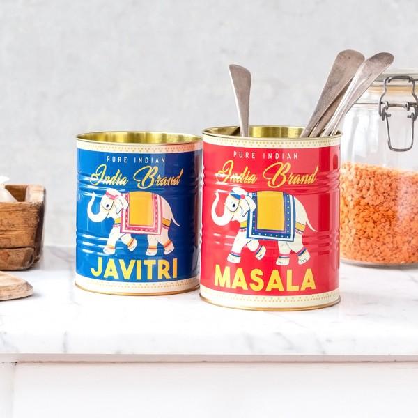 Storage tin set - Masala & javitri