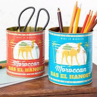 Storage tin set - Moroccan