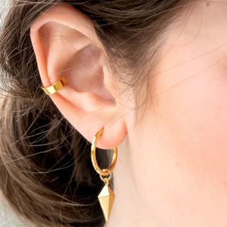 Hoop earrings - Noir