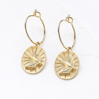 Hoop earrings - Frédérique