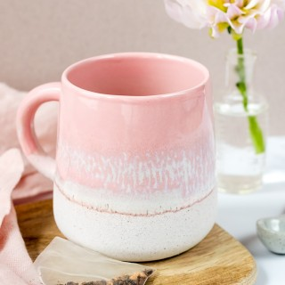 Ceramic mug - Mojave (pink)