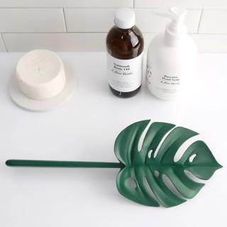 Bathroom scraper - Monstera leaf