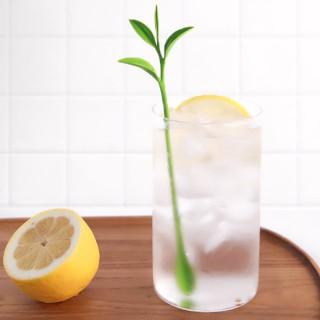 Cocktail stirrers - Green leaf