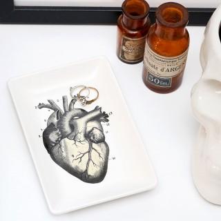 Trinket tray - Curios (heart)
