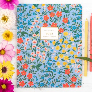 Rifle Paper appointment notebook - Wildwood 2022