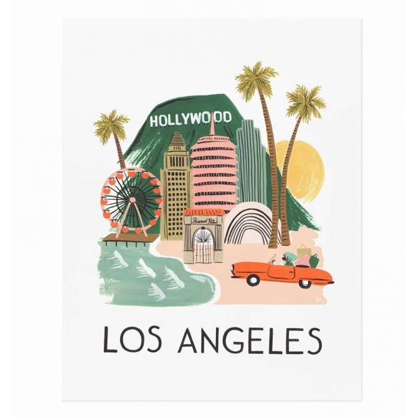 City print - Los Angeles