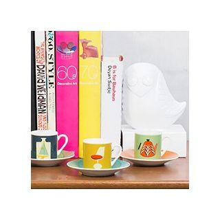 Modern home espresso set