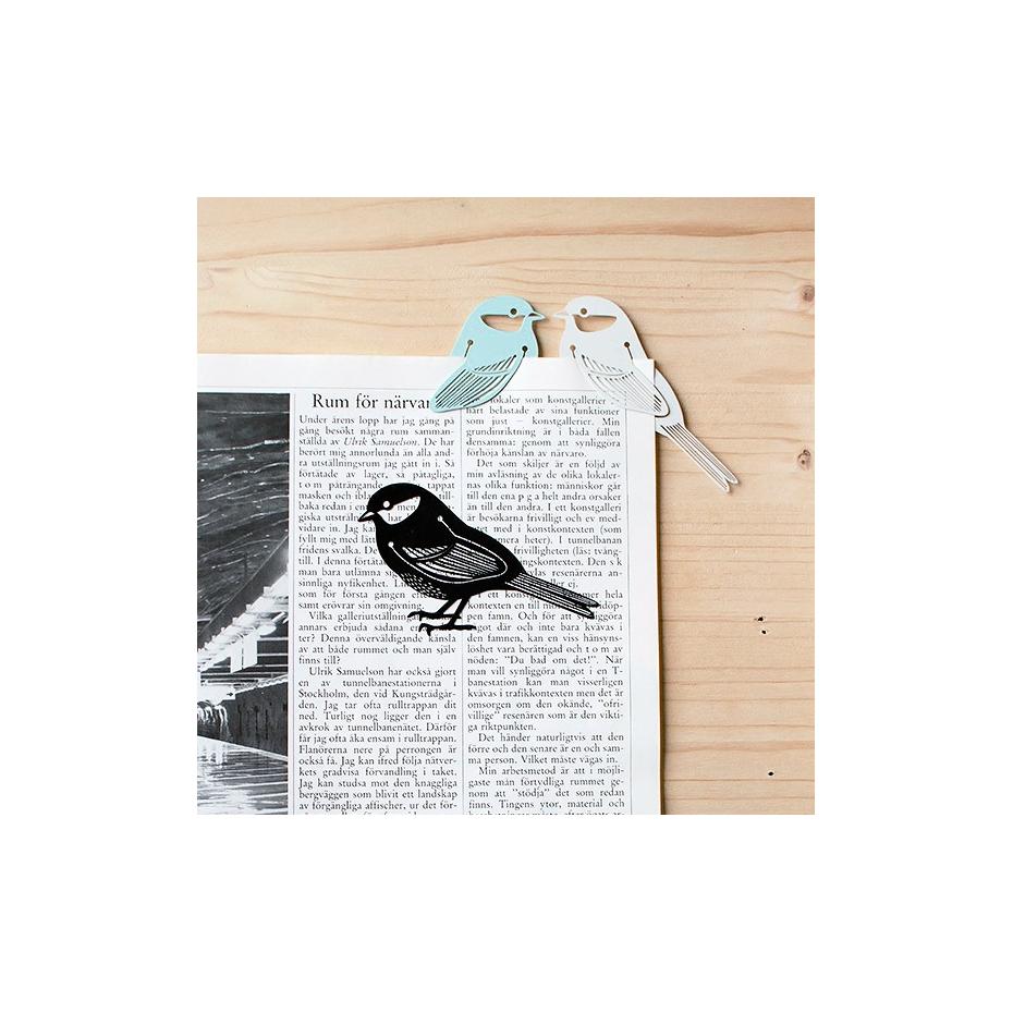 marque page en m tal en forme d 39 oiseau bird marker. Black Bedroom Furniture Sets. Home Design Ideas