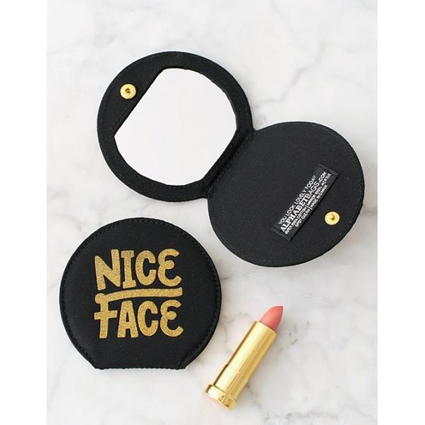 Miroir de poche Nice face