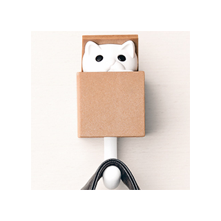 Cat wall hook - Kitt-a-boo