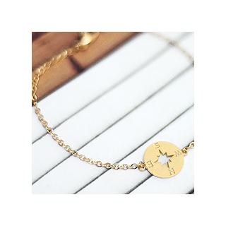 Bracelet - Gold compass