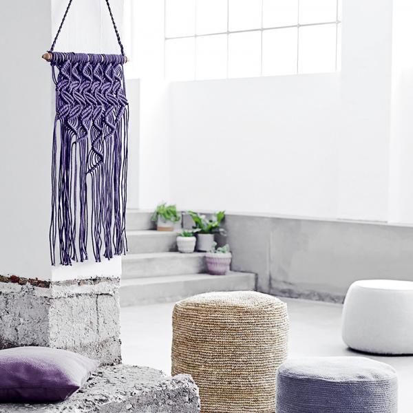 Wall hangers - dream purple