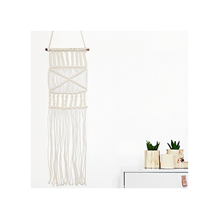 Wall hangers - ivory