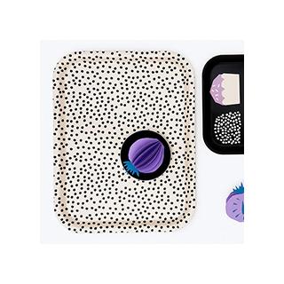 Polka dots tray