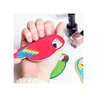 Parrot nail file