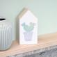 Maison en bois - cactus