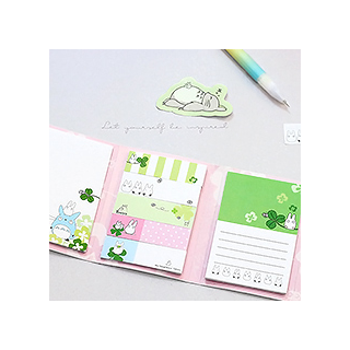 Totoro - sticky notes (green)