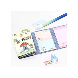 Totoro - sticky notes (bleu)