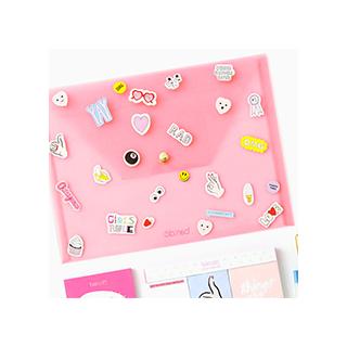 Pochette et stickers Peekaboo folio
