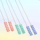 Neon cob - earrings
