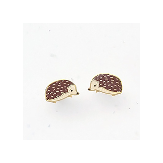 Woodland hedgehog - studs