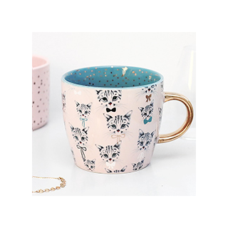Pretty kitty cup