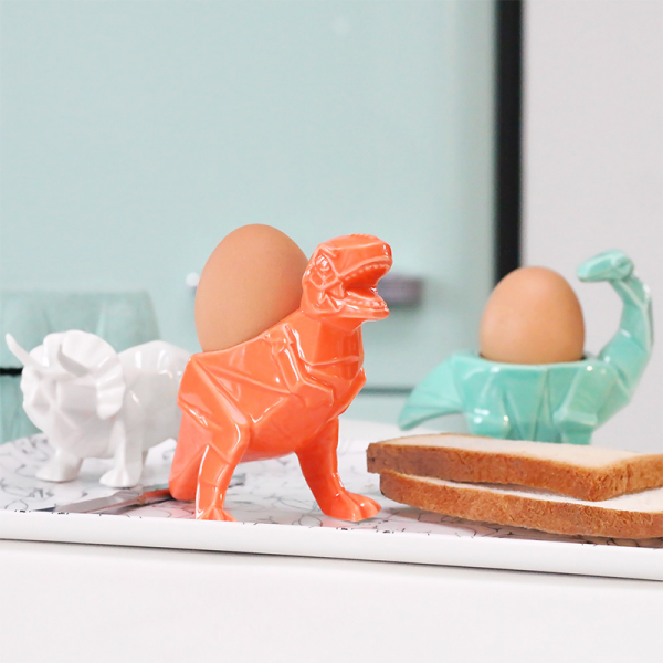 Dinosaur eggcup