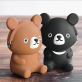 3D Pochi friends - brown bear