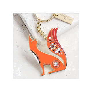Keyring - Folklore fox