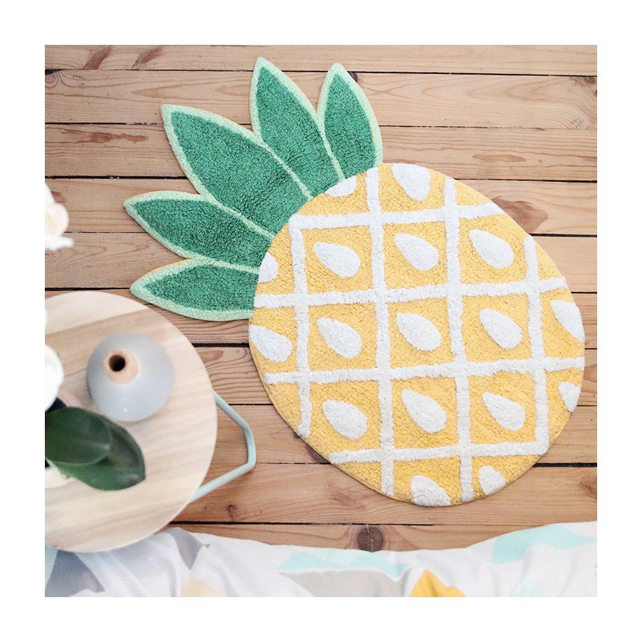 Tropical Pineapple Rug By Sass & Belle