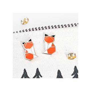 Woodland fox - studs