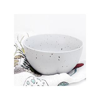 Matt grey bowl