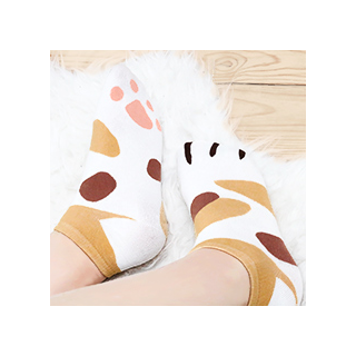 Socquettes - Kitty paws socks