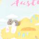 Origamu koala - studs