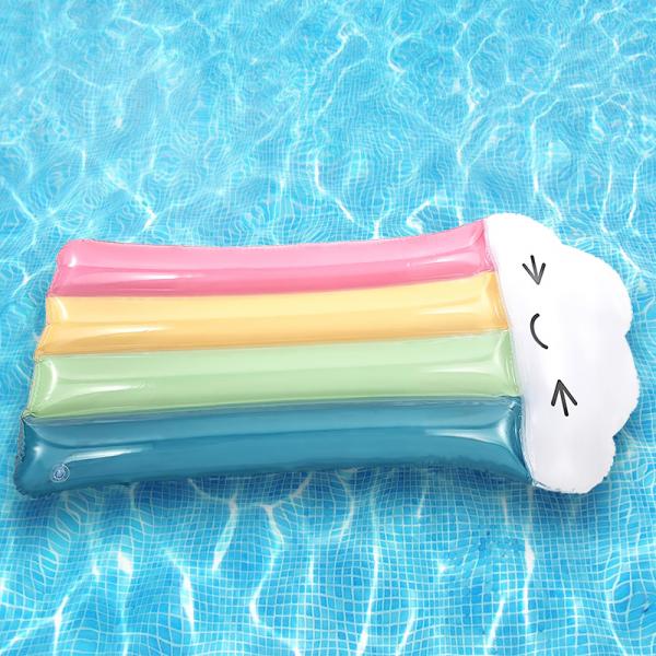 Inflatable rainbow