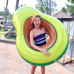 Inflatable avocado